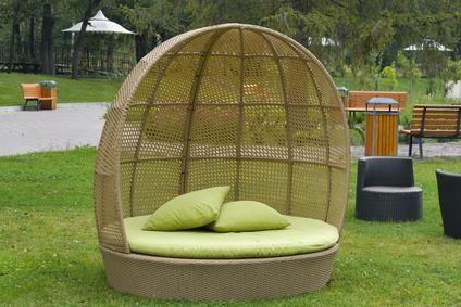 Gartenmuschel In Naturfarbe