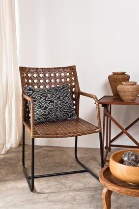 rattanst hle ohne armlehne. Black Bedroom Furniture Sets. Home Design Ideas