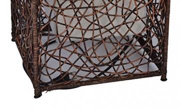 MiaMöbel Stehlampe 'Libero' aus Rattan