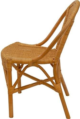 Rattanstuhl Klassik Farbe Honig Esszimmerstuhl Korb Küchenstuhl Esszimmer Stuhl Korbstuhl Natur Rattan