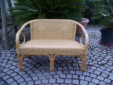 Rattan Sofa Bank (Sessel) NEU in der Farbe HONIG
