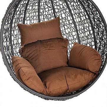 Home Deluxe | Polyrattan Hängesessel | KORB Cielo | inkl. Sitz- und Rückenkissen