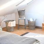 Relaxdays Aufbewahrungskörbe 3er Set, runde Aufbewahrungsbox, Körbchen geflochten, Aufbewahrungskisten 3 Größen, grau