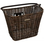 Basil Fahrradkorb Basimply Ii-Rattan Look, Nature Brown, One Size, 19027