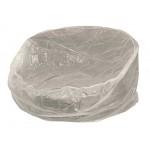 Abdeckhaube für Relaxinsel gross 240cm rund, PE transparent
