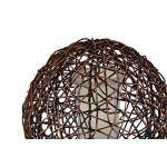 MiaMöbel Stehlampe 'Jones' aus Rattan