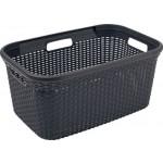 Curver 00708-308-00 Wäschebox Style, 45 L, anthrazit