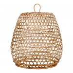 Lampenschirm LIBBY Deckenlampen Deckenleuchten Hängelampe Schirm Rattan