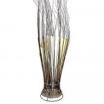 Deko-Leuchte Stimmungsleuchte Stehleuchte Tischleuchte Tischlampe Bali Asia Zweige 80 cm Color Weiß
