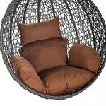 Home Deluxe   Polyrattan Hängesessel   KORB Cielo   inkl. Sitz- und Rückenkissen