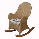moebel direkt online Schaukelstuhl inklusive Sitzkissen beigefarben