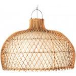 Guru-Shop Deckenlampe / Deckenleuchte, Deckenlampe Nikini - in Bali Handgemacht aus Naturmaterial, Rattan, 45x60x60 cm, Dekolampe Stimmungsleuchte
