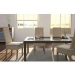 6X Rattanstühle Calvi - Essgruppe - Esszimmerstühle Beige inkl. Sitzkissen